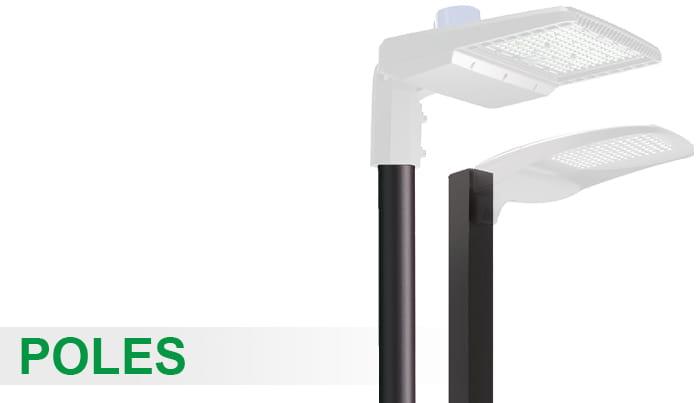 Atg Led Lighting Poles